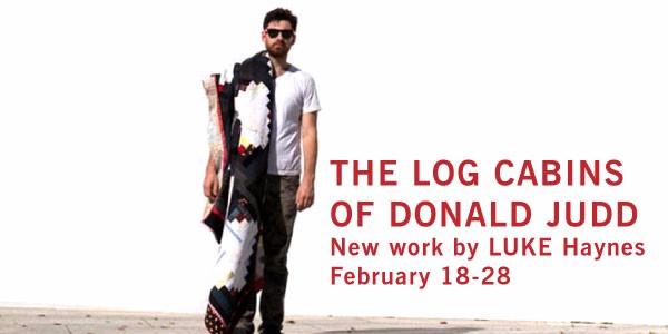 The Log Cabins of Donald Judd by LUKE Haynes