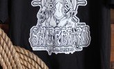 San Pedro sailor lady shirt for grabs in Aicher's Pop Kustom Shoppe!