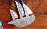Purchase this most unusual ship for your techie friends in LFCubed Designs.