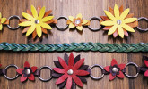 These leather belts from Leather E add some spring style to shirt and maxi dresses.