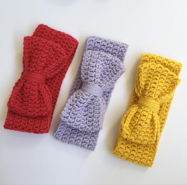 bows+crochet