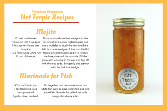 ParadisePreserves recipe 2 hot tropic