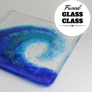fused glass class graphic