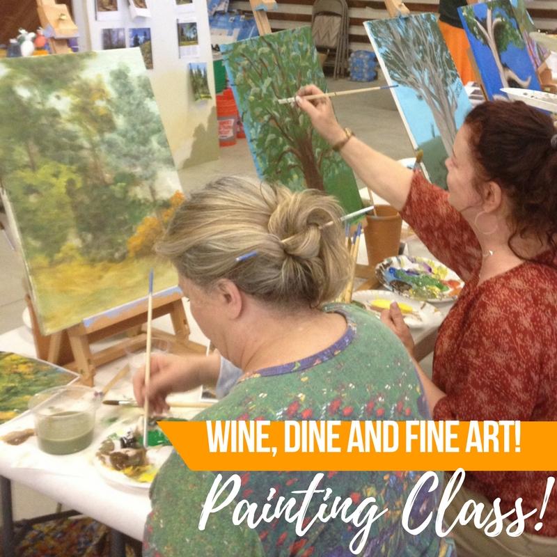 Wine, Dineand Fine Art!